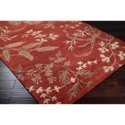 Hand-knotted Kadoka Semi-worsted New Zealand Wool Rug (8' x 11')