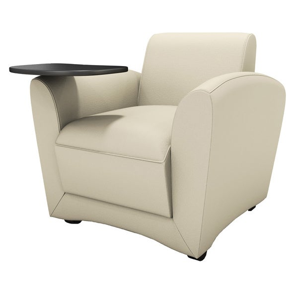 Mayline Santa Cruz Lounge Series Mobile Chair with Tablet