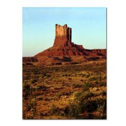 Kurt Shaffer, 'Monument in the Desert' Canvas Art