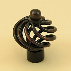 Stone Mill Hardware Coventry Oil-rubbed Bronze Cabinet Knobs (Pack of 10)
