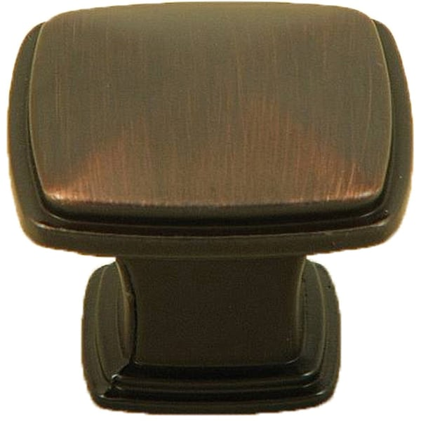 Stone Mill Hardware 'Providence' Oil Rubbed Bronze Providence Cabinet Knobs (Pack of 10)