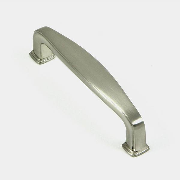 Stone Mill Hardware 'Providence' Satin Nickel Cabinet Pulls (Pack of 5)