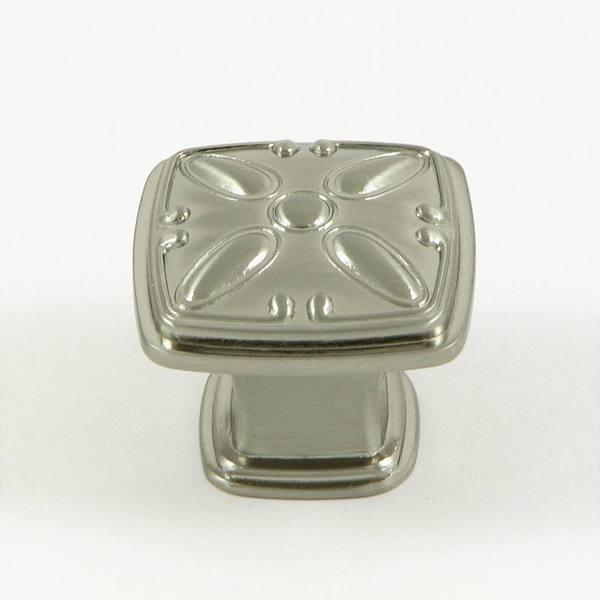 Stone Mill 'Edinborough' Satin Nickel Cabinet Knobs (Set of 10)