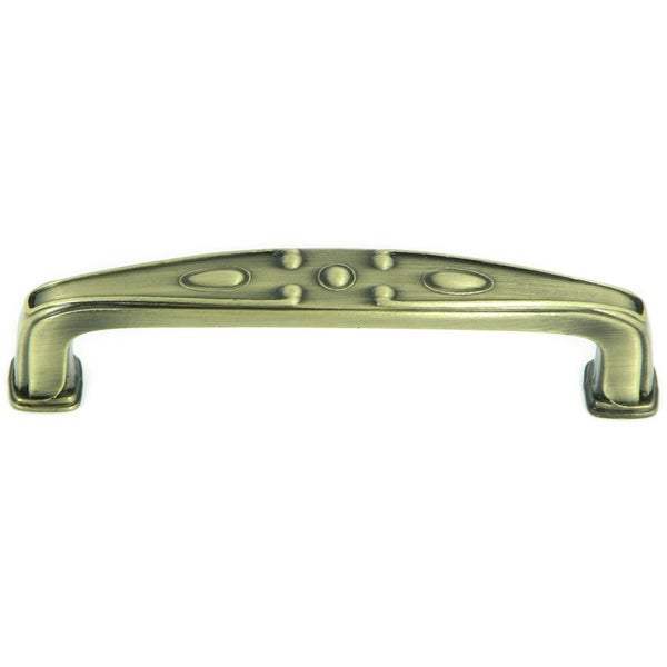 Stone Mill 'Edinborough' Antique Brass Cabinet Pulls (Set of 10)