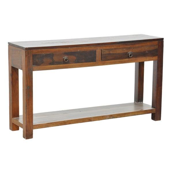 Borton 2-Drawer Console Table