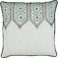 Decorative Sqaure Pazz Medium Multicolored Pillow