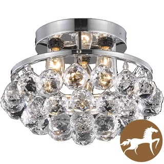 Christopher Knight Home Chrome 3-Light Chandelier