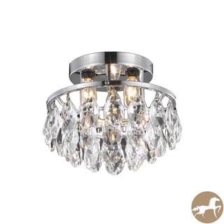 Christopher Knight Home 3-light Chrome/ Crystal Drop Chandelier