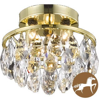Christopher Knight Home Gold 3-Light Chandelier