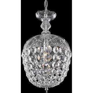 Christopher Knight Home Chrome 1-Light Chandelier