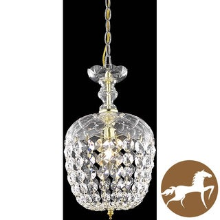 Christopher Knight Home Gold 1-Light Chandelier