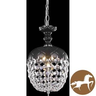 Christopher Knight Home Black 1-Light Chandelier
