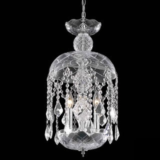 Christopher Knight Home Chrome Crystal Chandelier