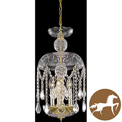 Christopher Knight Home Gold Crystal Chandelier