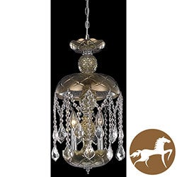 Christopher Knight Home Golden Teak Pendant Chandelier
