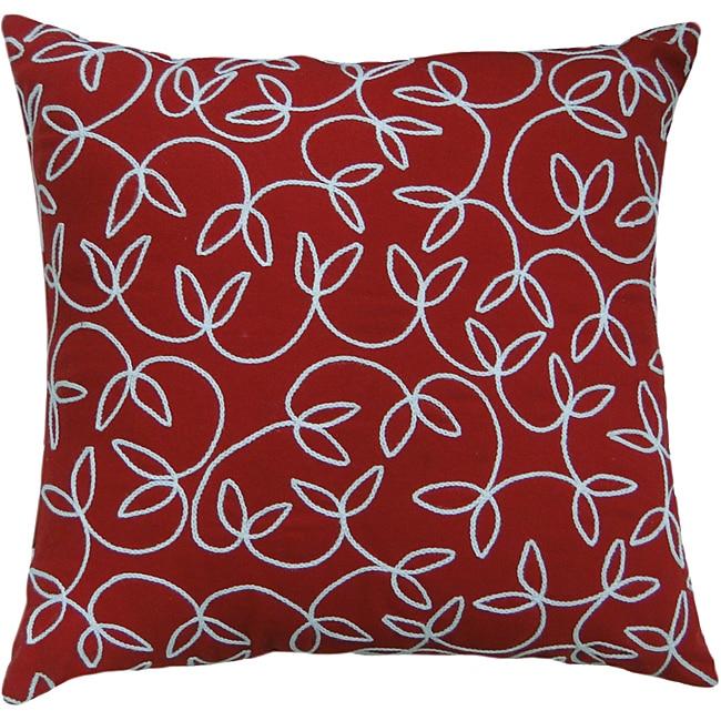 Jovi Montgomery Red Decorative Pillow