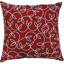 Jovi Montgomery Red Decorative Pillow