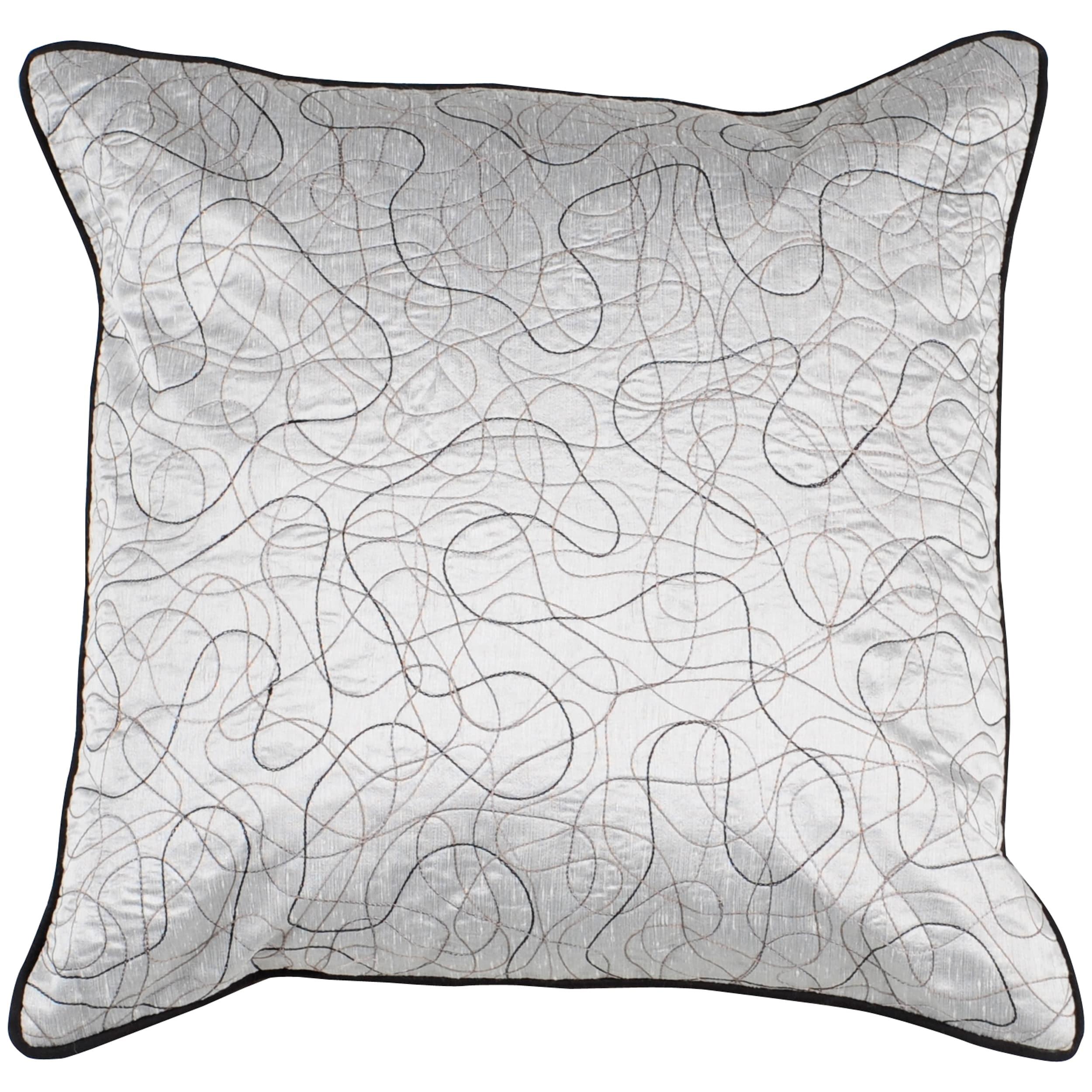 Decorative Topstitched Pro 18x18 Down Pillow