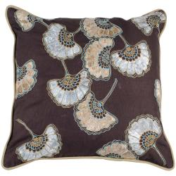 Gleam 22x22 Bohemian Floral Pillow