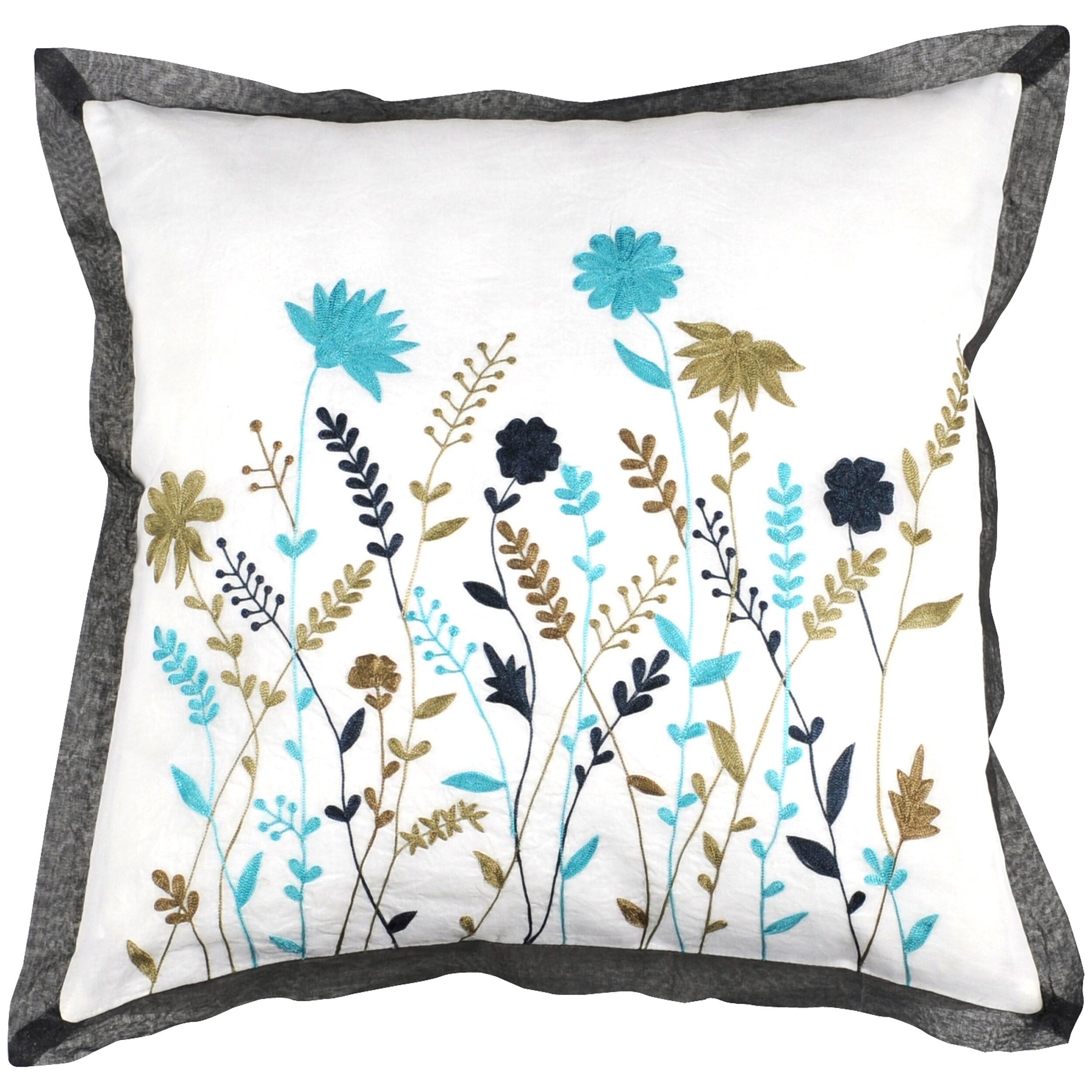 Decorative Quince 18x18 Pillow