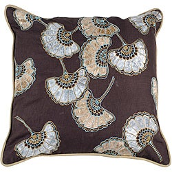 Gleam Floral 18x18 Down Pillow