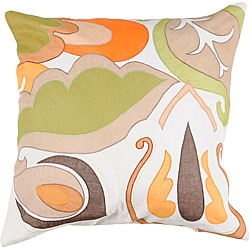 Decorative Noy Medium Multicolored Square Pillow