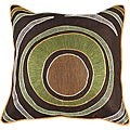 Decorative Kenny 22 x 22 Multicolored Square Pillow