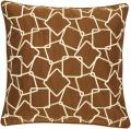 'Smirk' Down 18x18 Decorative Pillow