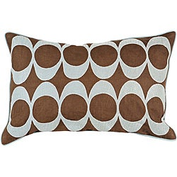 'Space' Down 13x20 Decorative Pillow