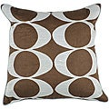 'Space' Large Square Down Decorative Pillow
