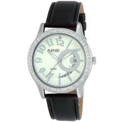 August Steiner Women's Diamond Quartz Watch