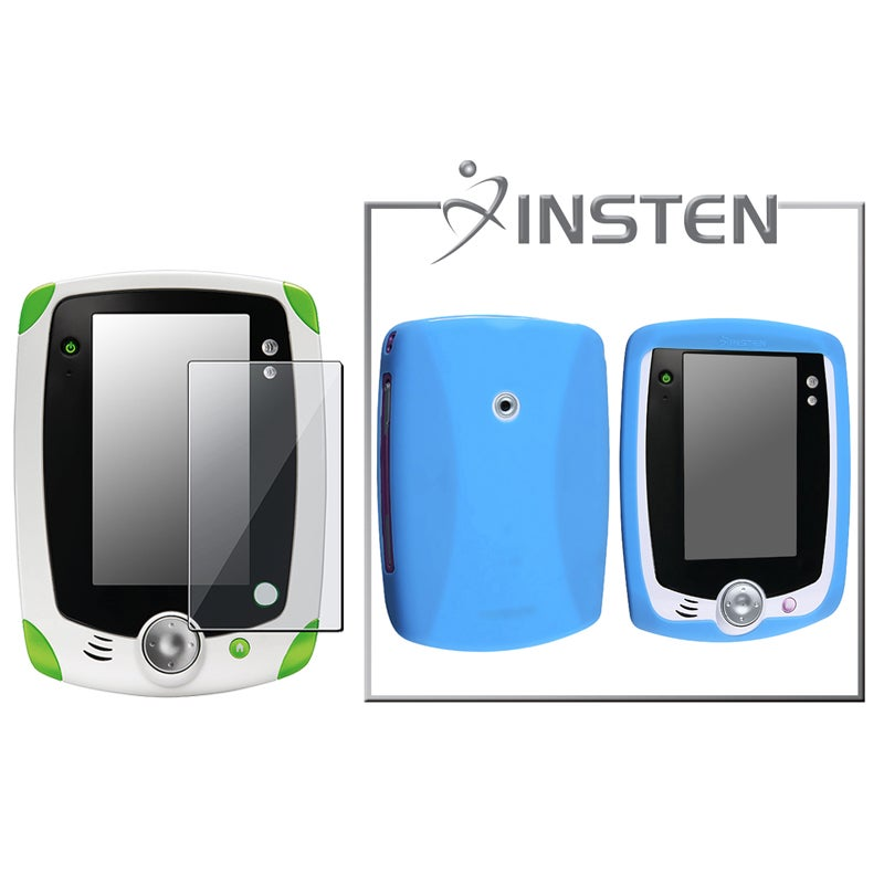 INSTEN Blue Case/ Protector compatible with LeapFrog LeapPad