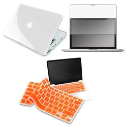 Orange Keyboard Shield/ LCD Protector/ Case for Apple MacBook Pro