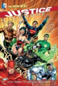 Justice League 1: Origin (Hardcover)