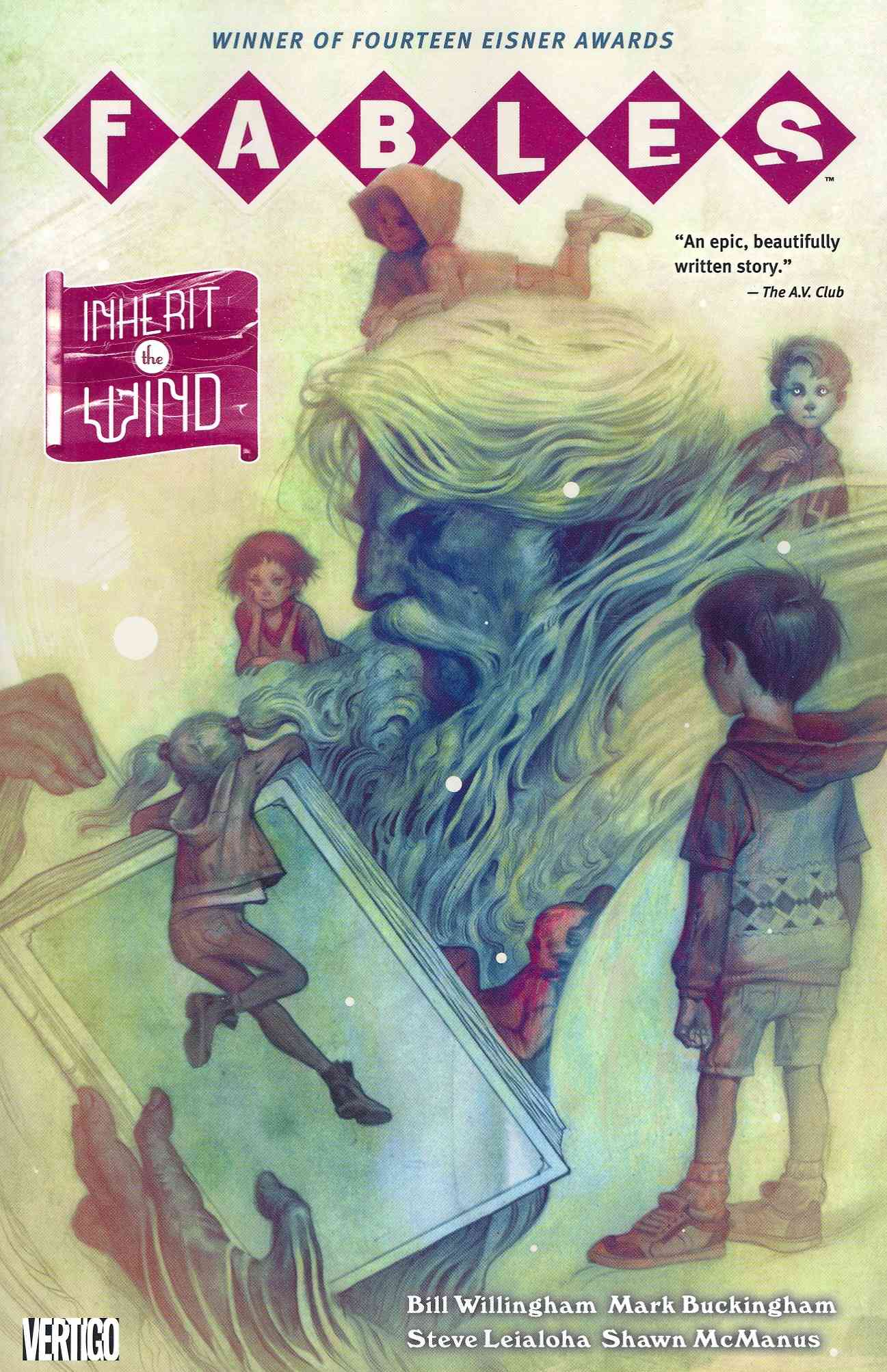 Fables 17: Inherit the Wind (Paperback)