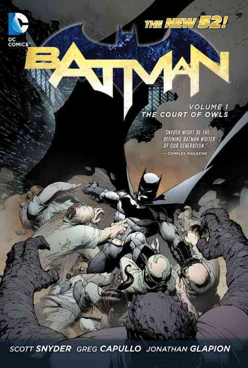 Batman 1: The Court of Owls (Hardcover)