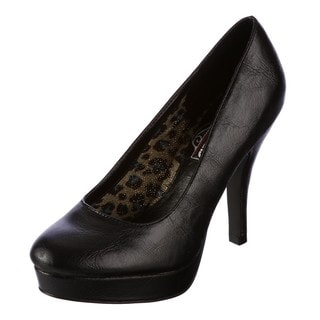 Unlisted by Kenneth Cole Women's 'File System' Black Pumps