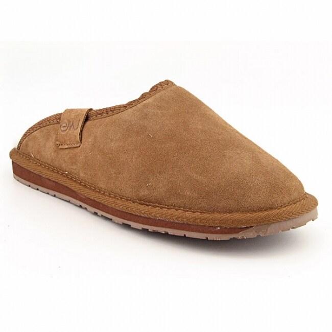Emu Australia Men's 'Buckingham' Brown Slippers (Size 9)