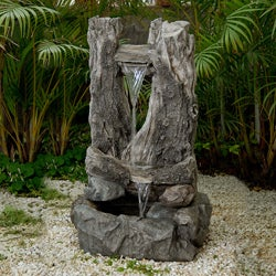 Wood Fall Water Fountain