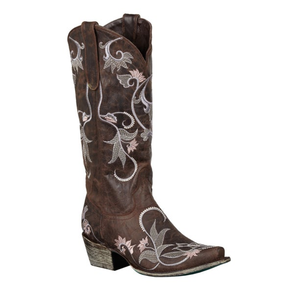 Lane Boots Women's 'Lacey' Mid-Calf Cowboy Boots