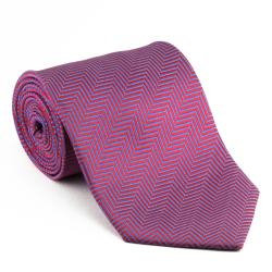 Platinum Ties Men's 'Manly Pink' Necktie