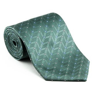 Platinum Ties Men's 'Green Dollar' Necktie