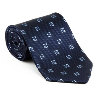 Platinum Ties Men's 'Blue Widow' Necktie