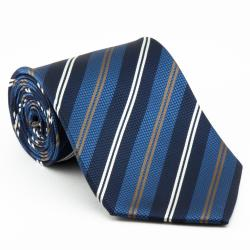 Platinum Ties Men's 'Blue Power' Tie Necktie