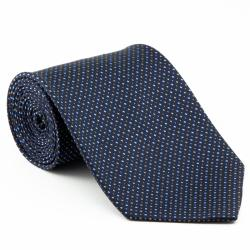 Platinum Ties Men's 'Blue Mix' Necktie