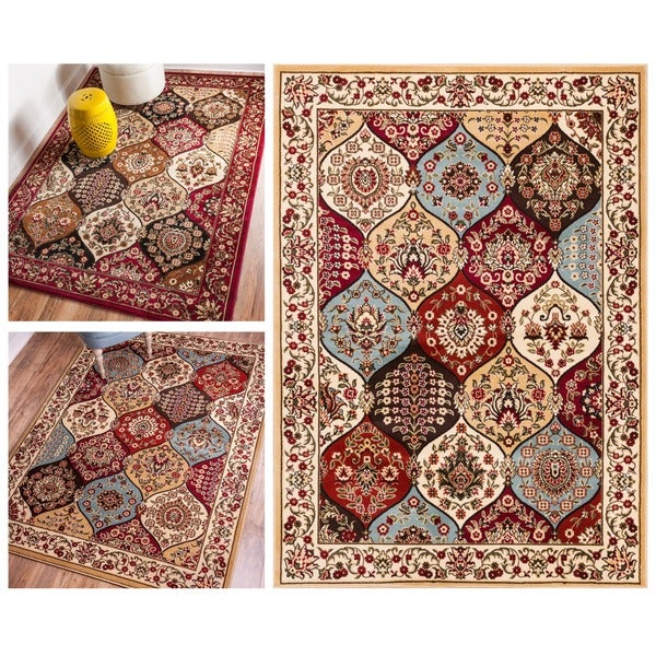 Wentworth Panel Area Rug (5'3 x 7'3)
