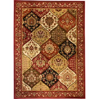 Wentworth Red Panel Rug (7'10 x 9'10)