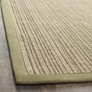 Dream Natural Fiber Green Sisal Rug (5' x 7' 6)