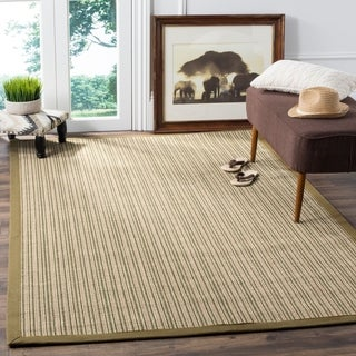 Safavieh Dream Natural Fiber Green Sisal Rug (6' x 9')