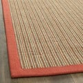 Dream Natural Fiber Rust Sisal Rug (2' x 8')